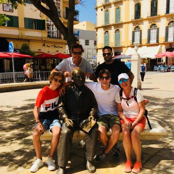 Fietstour Málaga Picasso
